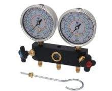 2-WAYS PISTON PRESSURE GAUGE UNIT