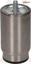 """állítható rozsdamentes acél láb ø 2"""" x h 107 mm"""