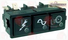 3-as kapcsoló block 16(4)A 250V