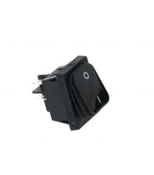 BIPOLAR SWITCH BLACK 16A 250V