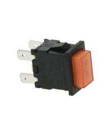 Narancssárga bipoláris kapcsoló 15A 250V