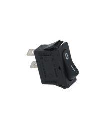Egypólusú kapcsoó (fekete) 16A 250V