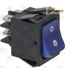 kék bipoláris kapcsoló 16A 250V