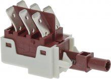 Dupla váltókapcsoló 16(6)A 250V
