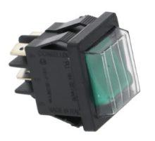 bipoláris kapcsoló zöld 16A 250V