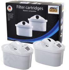 2 vízszűrő Aqua kompatibilis a Brita Maxtra Multimax készülékkel