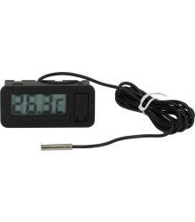 Digitális hőmérő  -50+70°C BLACK