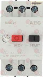 motorvédő kapcsoló AEG Mbs25