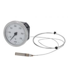 TELE-THERMOMETER WHITE ø 52 mm 50-350°C