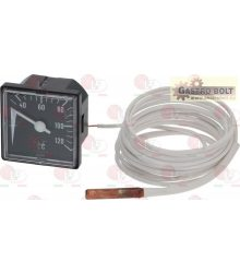 THERMOMETER 0-120°C 48x48 mm