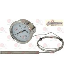 teletermométer fehér ? 60 mm 0-500°C