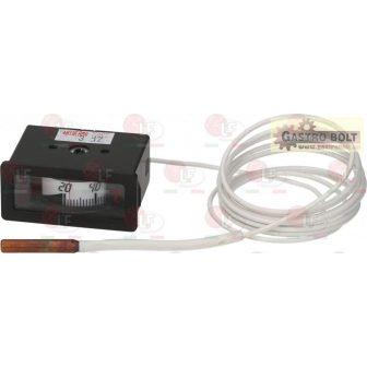 tele-termométer fehér 58x25 mm 0-120°C