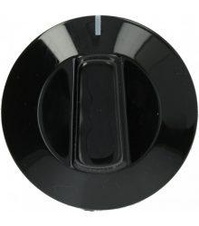fekete gomb ø 50 mm