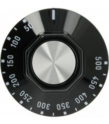 Fekete gomb ? 50 mm 50-500°C