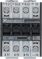 CONTACTOR BENEDIKT/JAGER K3-18ND10