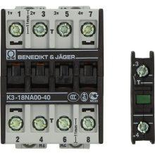 CONTACTOR BENEDIKT/JAGER K3-18A00-40