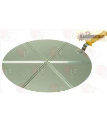 Pizza szervírozó lapát ? 45 cm (rozsdamentes acél)