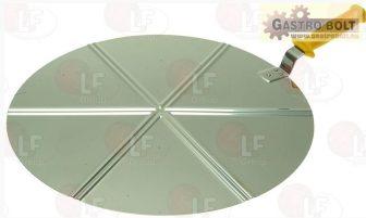 Pizza szervírozó lapát ø 45 cm (rozsdamentes acél)