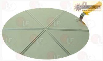 Pizza szervírozó lapát ø 50 cm (rozsdamentes acél)
