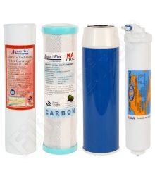 4-részes csere szűrő készlet fordított ozmózis rendszerekhez