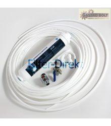 Csatlakozó készlet külső hűtőszűrővel, WSF-100, WSF100, DD-7098, DD7098, BL-9808, BL9808, USC100, GAC1-L