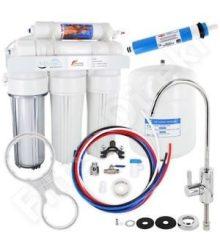 RO5 PP vízkezelő üzem fordított ozmózisa permeátum-szivattyúval
