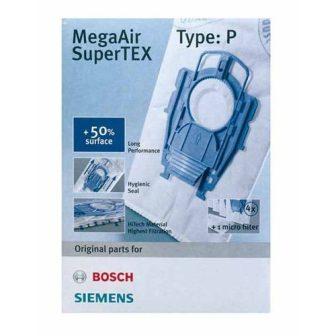 Bosch, Siemens porszívó táskák SuperTEX P / BBZ41FP típus, VZ41AFP 468264