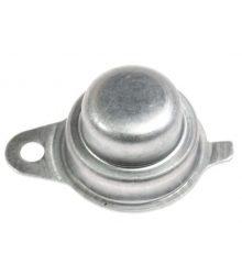 Csapágyfedél Whirlpool 480112101502 kerek fém kupak hátul a szárítókhoz