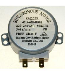 Forgótányér-motor 4W Whirlpool 481067848981 SM222E mikrohullámú sütőhöz
