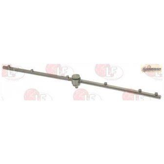 rozsdamentes acél öblítő egység LP60 550 mm