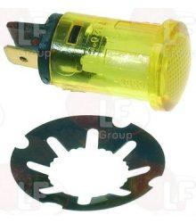 Jelzőfény sárga 250V