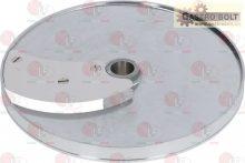 szeletelő lemez zöldség szeletelőhöz ívelt 8mm