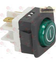jelzőfény zöld 10A 250V