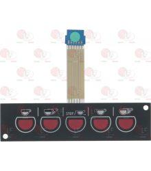 5 gombos panel