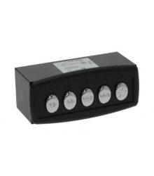 Nyomógomb panelL FOR CTR BOX 5P.B 230V
