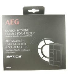motorvédő szűrő + kipufogó levegőszűrő AEG AEF136 készlet