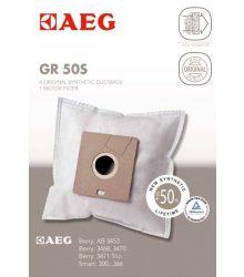 Szűrőzsák AEG 900166979/6 GR50S porszívóhoz 4db