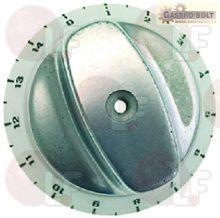 Alumínium időzítő gomb ø 72 mm