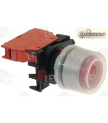 RED STOP PUSH-BUTTON 16A 600V