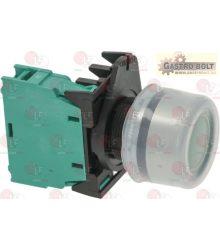 zöld indító nyomógomb 16A 600V