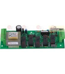 ELECTRON.CONTROL CIRCUIT BOARD 180x68 mm