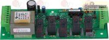 ELECTRON.CONTROL CIRCUIT BOARD 180x68 mm