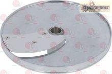 szeletelő lemez zöldség szeletelőhöz ívelt 6mm