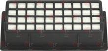 légszűrő rács 175x85 mm