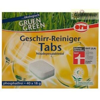 OPM Green öko mosogatógép tabletta 40db