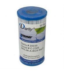 WF-39DY Darlly® Whirlpool Filter 20035 (helyettesíti a Spa szűrőt egy dobozban, PSB3.5, PH3, SC764, SB3)